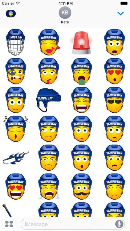 Tampa Bay Hockey Stickers & Emojis screenshot-3