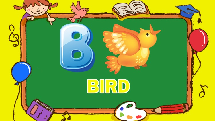 Learning ABC Vocabulary Letter Tracing for Kids screenshot-3