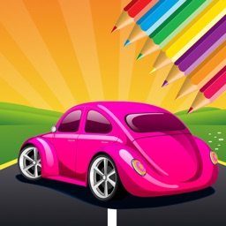 Car Coloring Book - Vehicle drawing for Kids