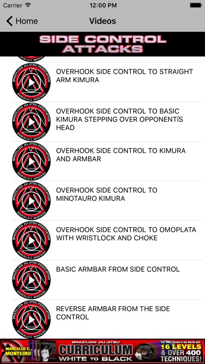 BJJ Side Control Attacks - Brazilian Jiu Jitsu screenshot-0