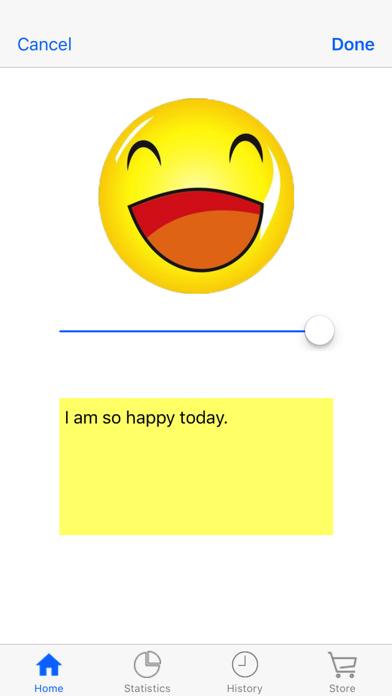 Daily Mood Tracker screenshot 1