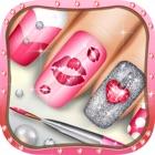女孩美甲游戏 - 女孩游戏化妆游戏 icon