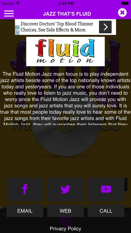 Fluid Motion Jazz