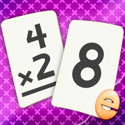 ‎Multiplication Flash Cards Games Fun Math Problems