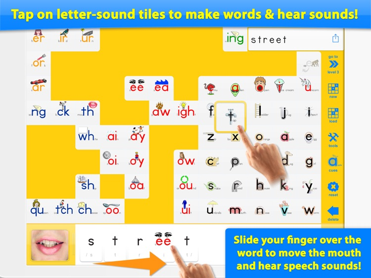 Word Builder - The Phonics Teaching Tool