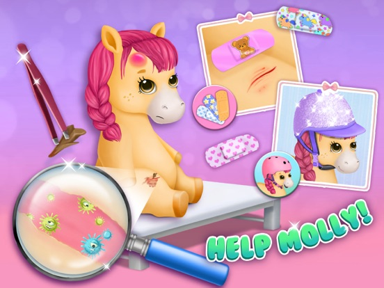 Pony Sisters Pet Hospital - Pink Horse Doctor screenshot 8