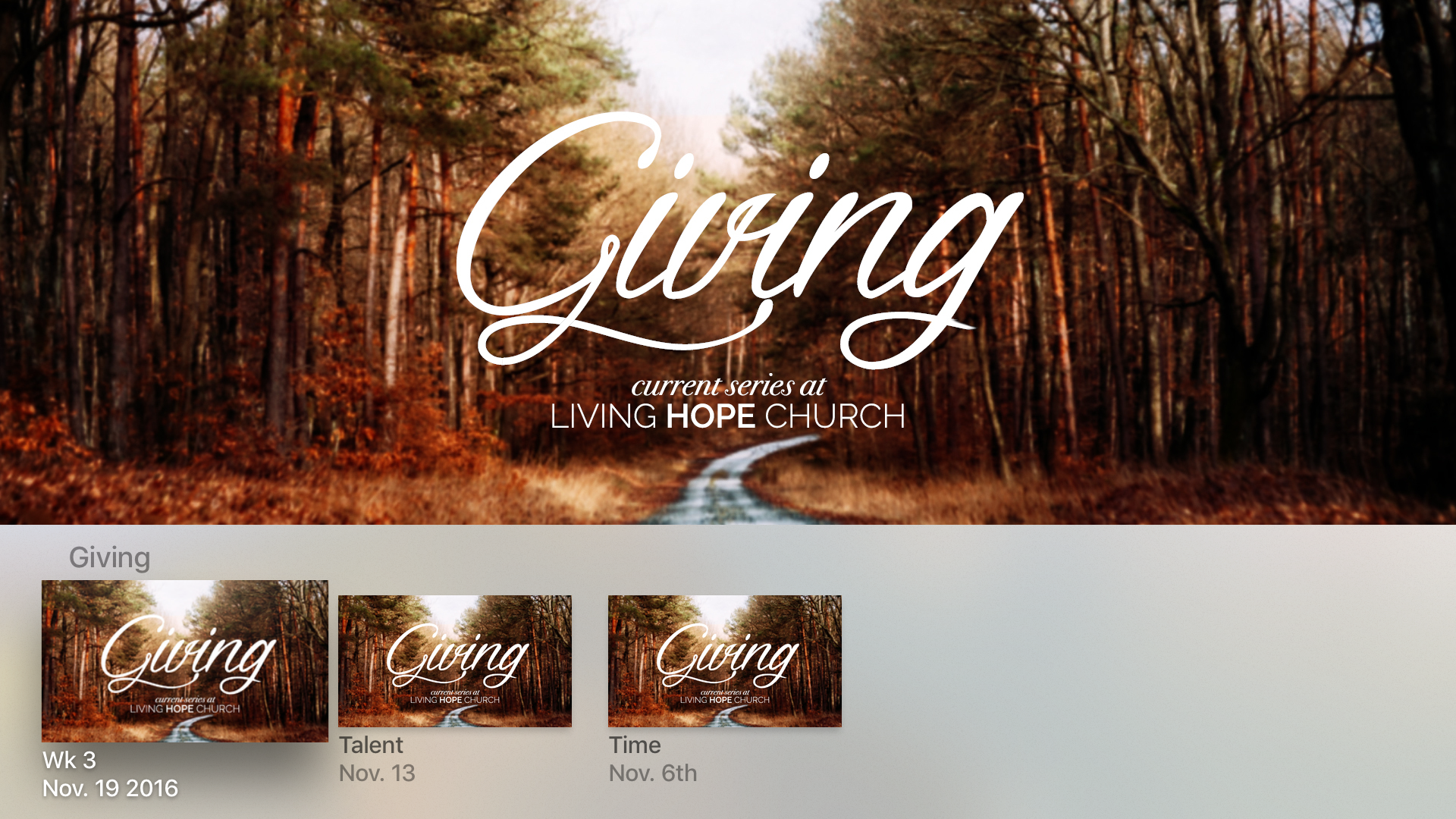 Living Hope Church App screenshot 8