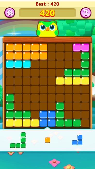 ブロブロ - ぷよぷよブロックでテトリス風パズルの無料ゲーム紹介画像1