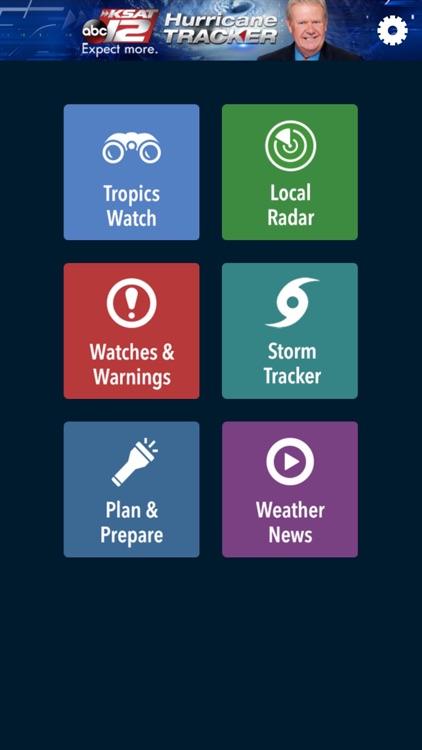 KSAT12 Hurricane Tracker