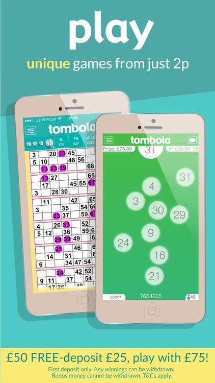 tombola bingo – Britain's biggest real money bingo screenshot-3