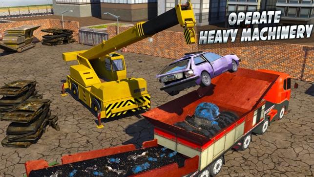 Quái vật Ô tô Máy xay Cần cẩu: gom rác Xe tải 3D