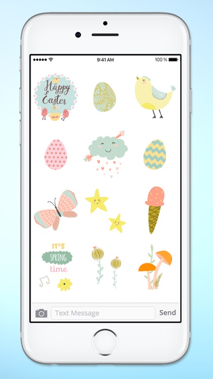 Spring and Easter Animals and More Sticker Pack screenshot-3