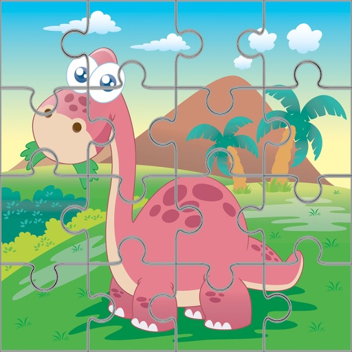 Dinosaur Jigsaw Puzzle Kids 7 To 2 Years Old Games