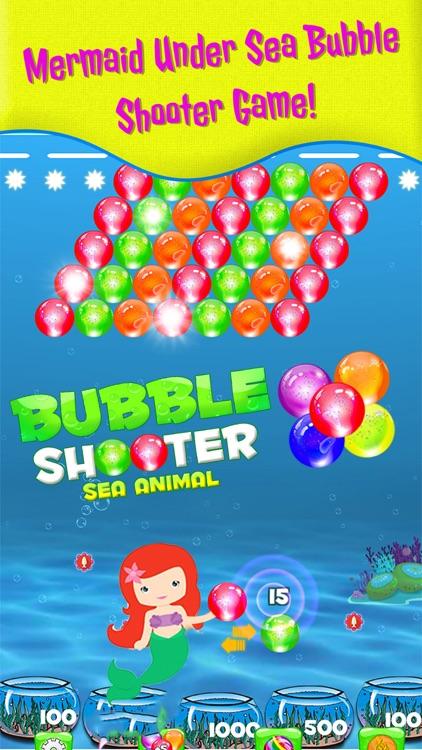 Bubble shooter Sea Animals