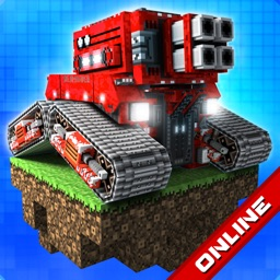 Blocky Cars Online — 3D shooting game
