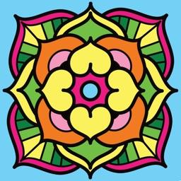 Colora Album: adult coloring book
