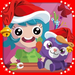 Xmas Tiny Bunny Pet Shop Story - Cute & Adorable