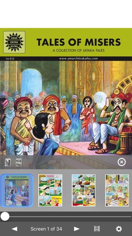 Jataka Tales - Tales Of Misers - Amar Chitra Katha