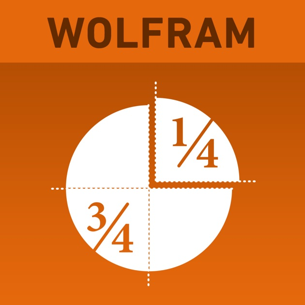 App Store Wolfram Fractions Reference App