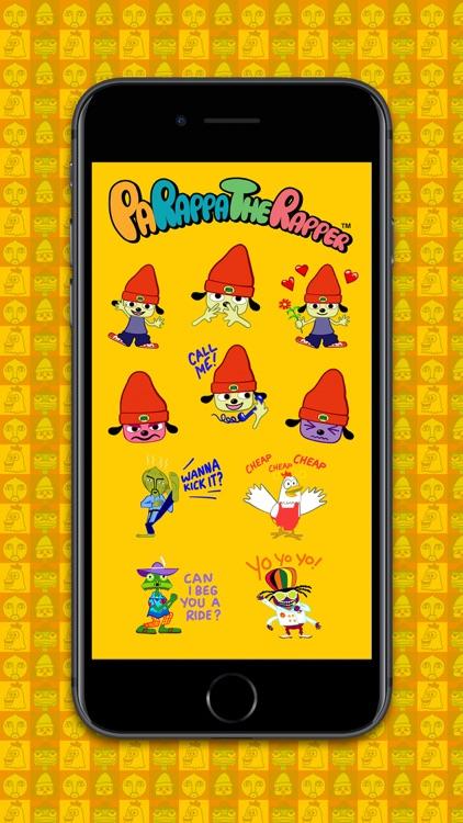 PaRappa the Rapper™ Stickers