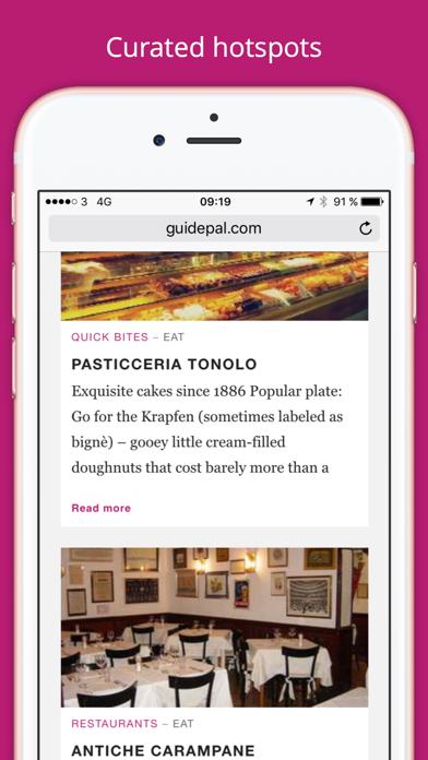 Venice City Travel Guide - GuidePal screenshot two