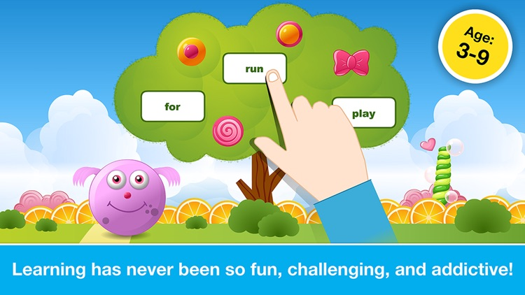 Sight Words Games in Candy Land: Reading for Kids screenshot-4