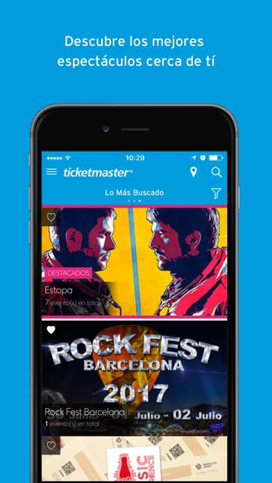 download Ticketmaster España apps 2