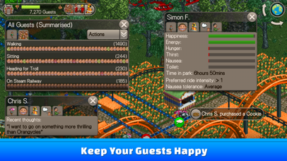 RollerCoaster Tycoon® Classic app image