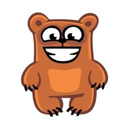 Bear Emoji Stickers