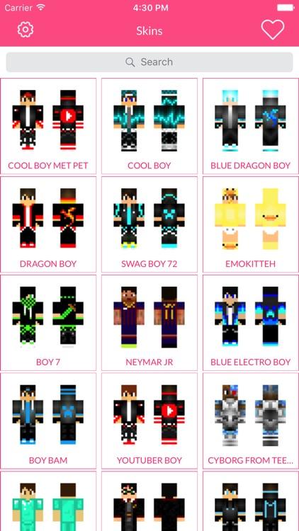 Boy Skin For Minecraft Edition screenshot-4