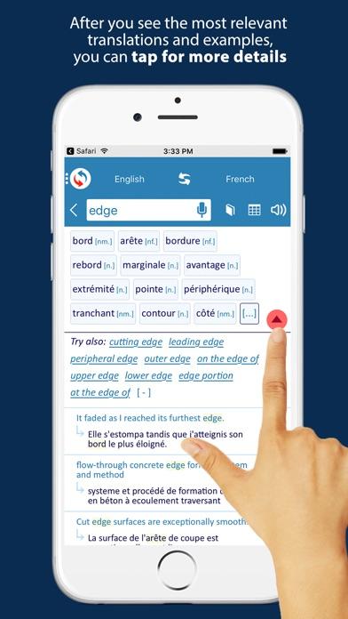 Reverso translation dictionary Screenshot