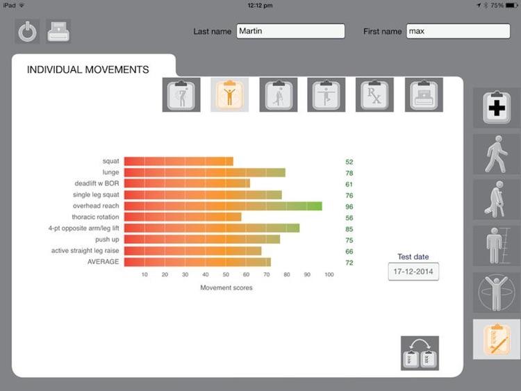 Movement Screen Pro screenshot-3