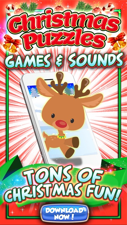 christmas puzzles for kids reindeer games free