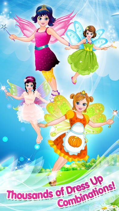 Fairy Princess Fashion: Dress Up, Makeup & Style