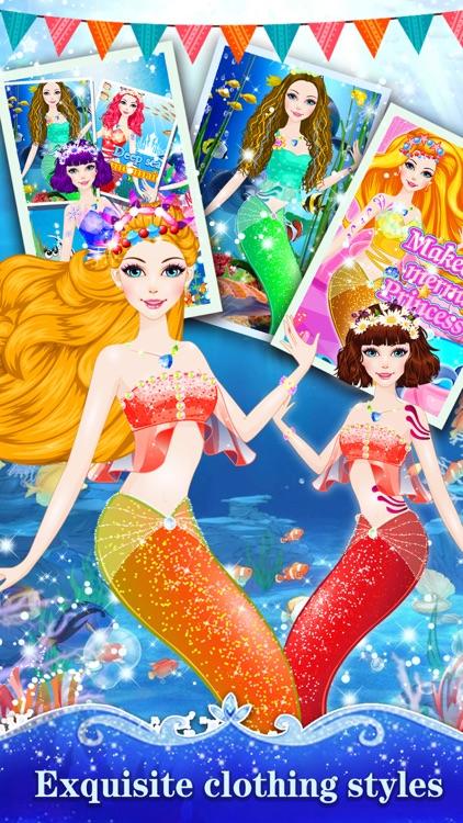 Mermaid Princess Salon - Miss Beauty Queen Salon