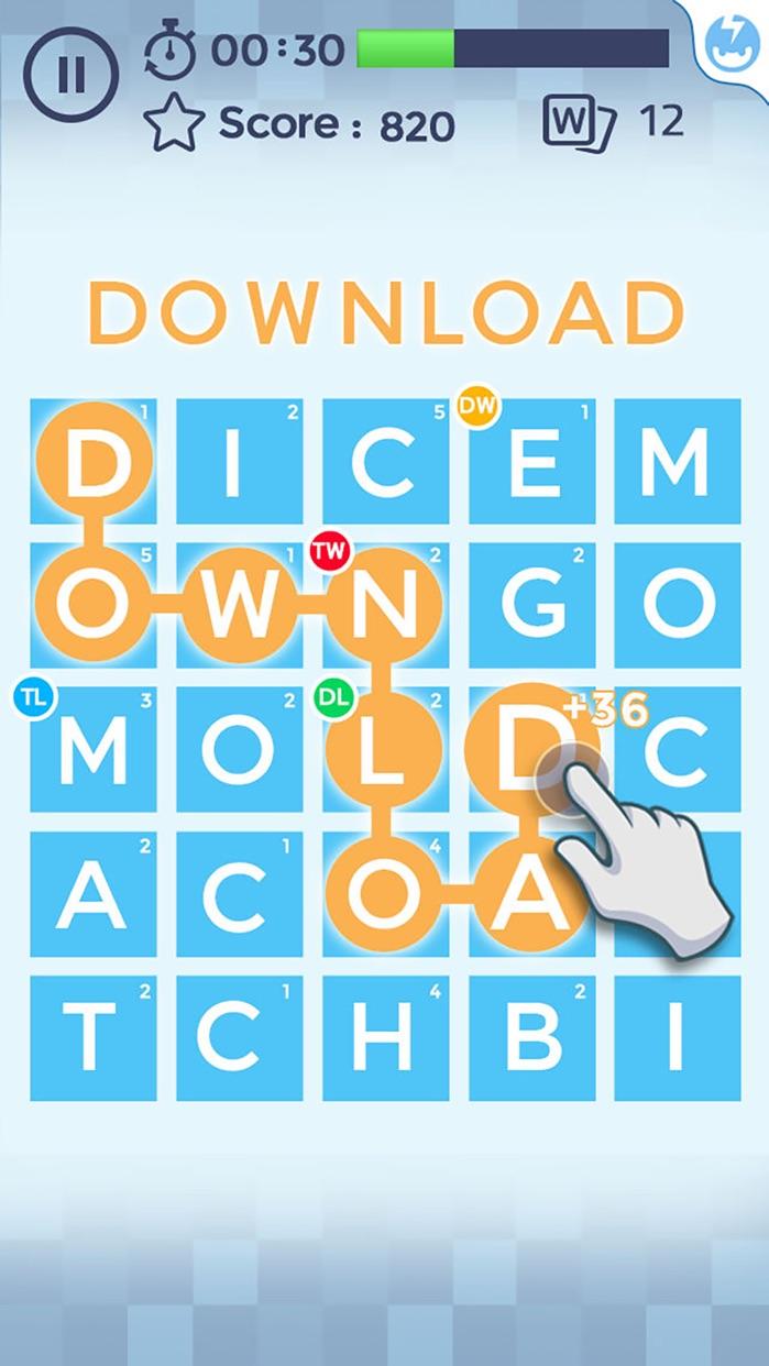 Word Scramble™ Screenshot