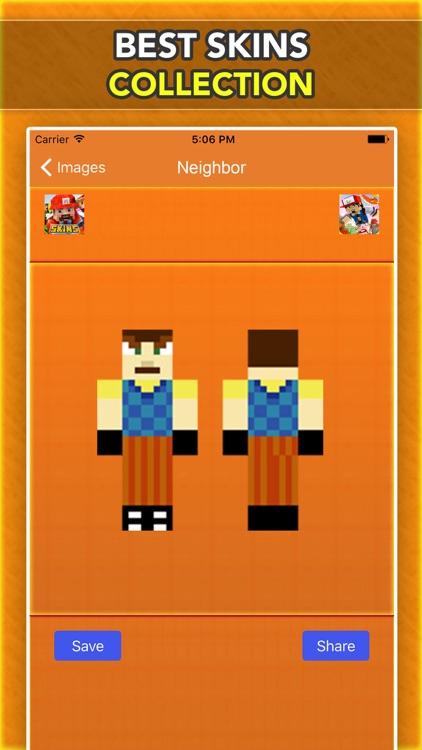 Neighbor Skins For Minecraft Pocket Edition Free screenshot-3