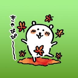 Sipa The Bear Japanese Autumn