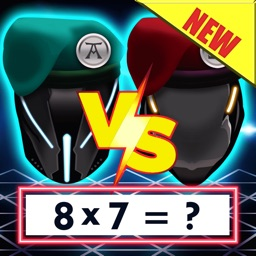 Maths Wars - Times Tables Multiplication Math Game
