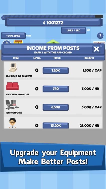 Social Tycoon - Idle Clicker screenshot-3