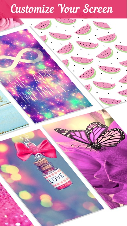 Girly Wallpapers & Background screenshot-3
