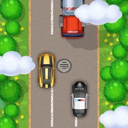Pixel Car Race - Thumb Drift Racing