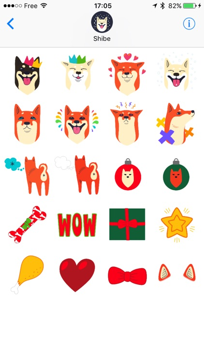Shibe Stickers by Abi Heyneke