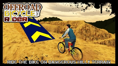 Offroad Bicycle Rider & uphill cycle simulator 3D screenshot one
