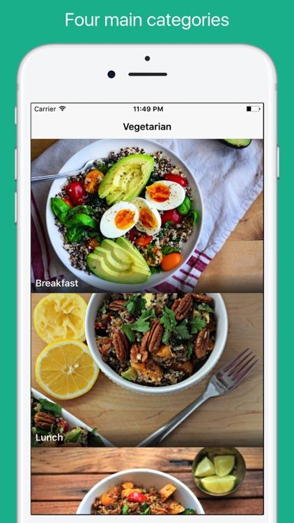 Vegetarian dating app