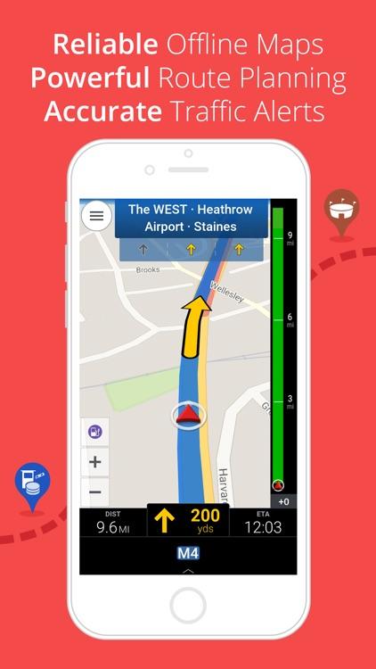 CoPilot UK & IRE – Offline Sat-Nav, Maps & Traffic screenshot-0