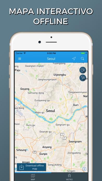 Seúl - Mapas de la ciudadCaptura de pantalla de1