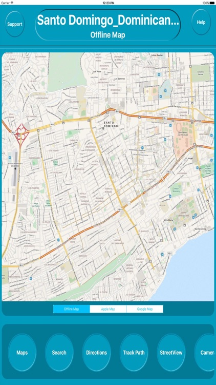 Santo Domingo Dominican Republic Offline city Maps
