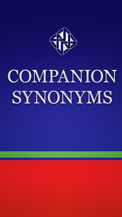 Companion Synonyms -with Spelling Dictionary