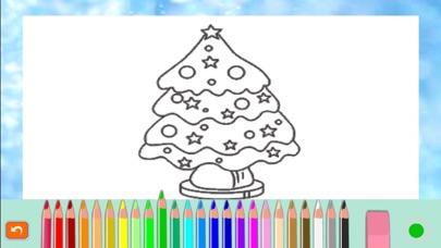 圣诞老人- 圣诞-画画-圣诞礼物,圣诞快乐-画画板游戏·幼儿涂鸦·宝宝填色·早教 ,儿童学画画免费屏幕截圖5